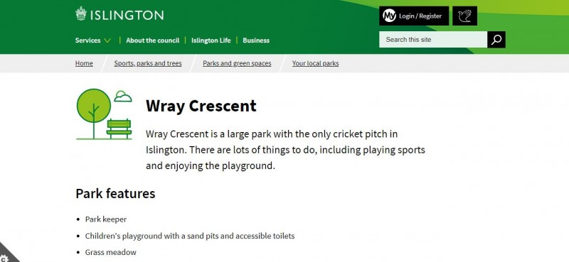 Wray Crescent Open Space