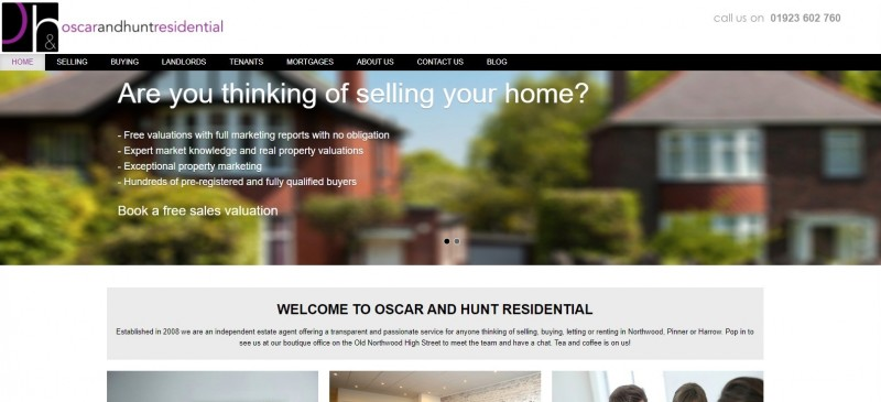Oscar & Hunt Lettings & Property Management