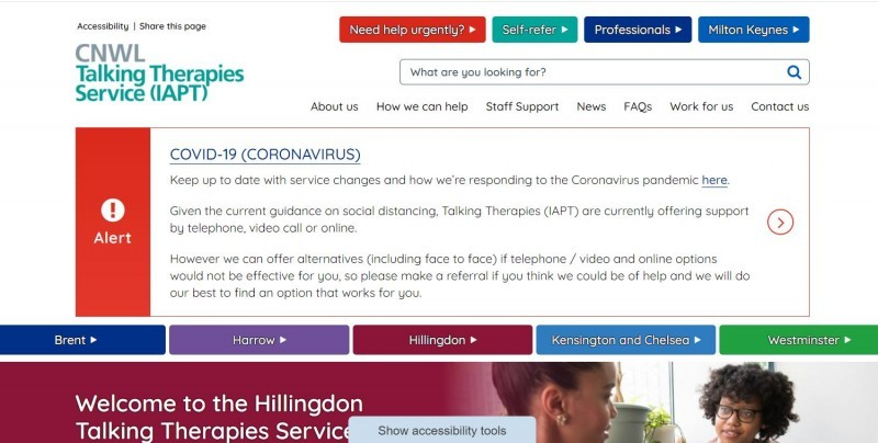 Hillingdon Talking Therapies