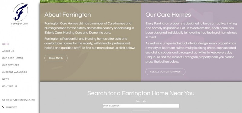 Farrington Care Homes Limited