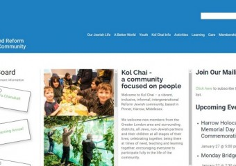 Kol Chai Hatch End Reform Jewish Community