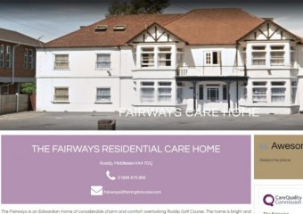 THE FAIRWAYS RESIDENTIAL CARE HOME