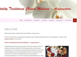 Vitality Traditional Chinese Medicine Acupuncture
