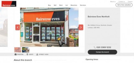 Bairstow Eves Estate Agents Northolt