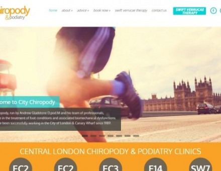 City Chiropody & Podiatry Barbican