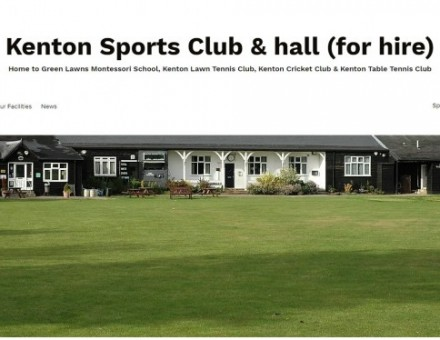 Kenton Sports Club and Hall for Hire