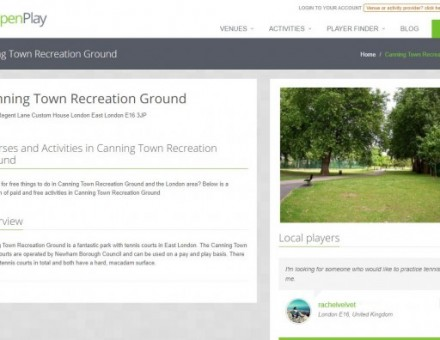Canning Town Recreation Ground