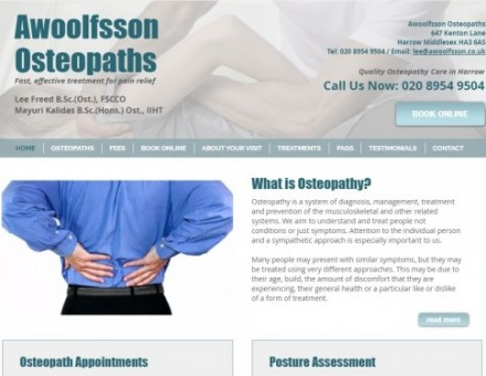 Awoolfsson Osteopaths Ltd