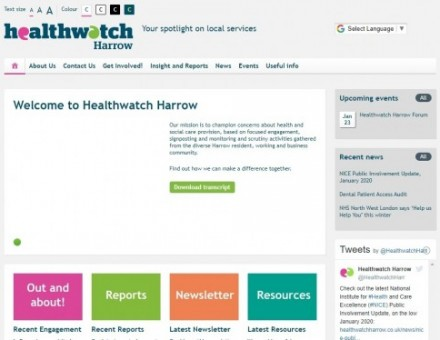 Healthwatch Harrow Forum