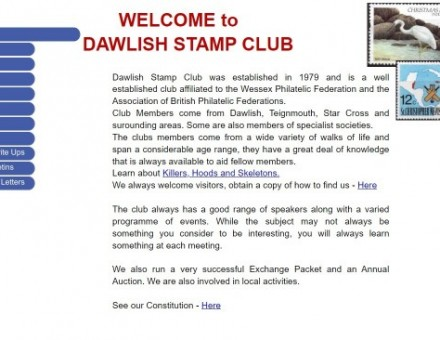 Dawlish Stamp Club