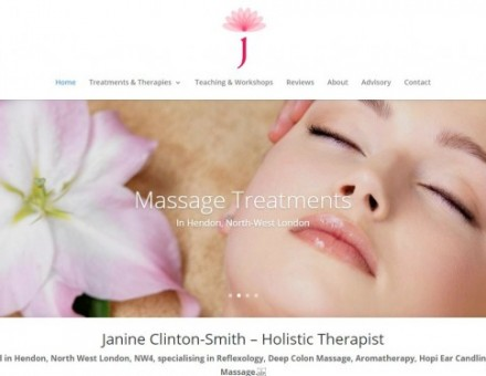 Janine Clinton-Smith – Holistic Therapist