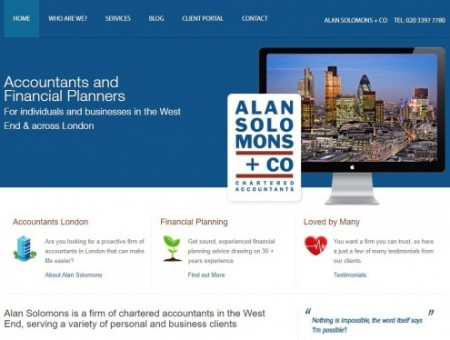 Alan Solomons & Co Chartered Accountants Harrow