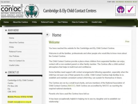 Cambridge & Ely Child Contact Centres