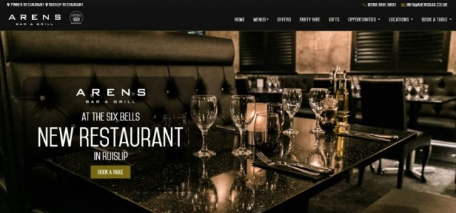 Arens Bar & Grill At The Woodman