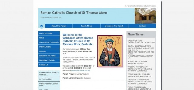 St Thomas More R C Church
