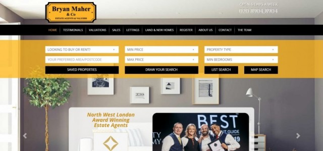 Bryan Maher and Co Estate Agents in Wembley
