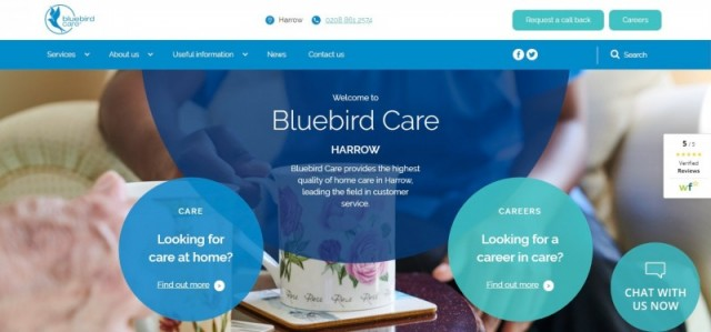 Bluebird Care Harrow