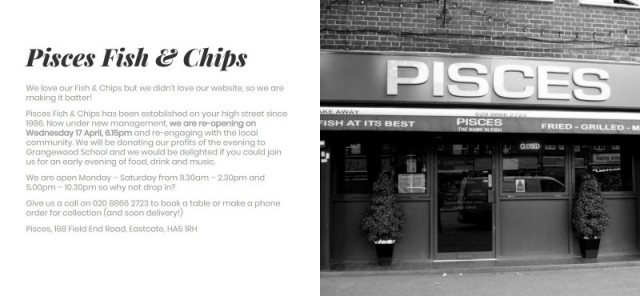 Pisces Fish and Chips
